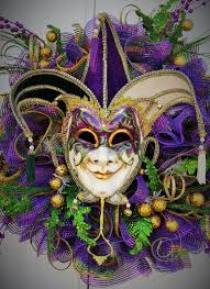 large mardi gras mask large mardi gras wreath mardi gras masquerade wreath whimsical