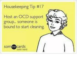 Housekeeping Meme - housekeeping lip 17 host an ocd support group someone is bound to