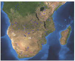 Southern Africa Map Southern Africa Riverwatch