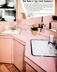 19 best vintage pink kitchen and baths images on pinterest