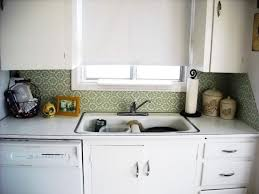 Kitchen Backsplash For Renters - backsplash idea for rental kitchens removable fabric kitchn