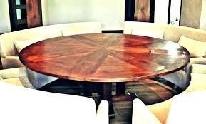 expanding circular dining table expandable circular dining table large round extending dining table