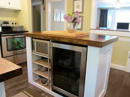 portable kitchen island with storage and seating easy living