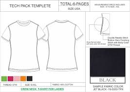 tech pack template ladies full sleeves formal shirt usa standard size