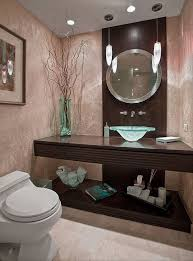 over rustic iron vanity wooden top single bowl sink powder room