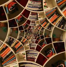 bookcase designs seemingly impossible spiral bookcase designs