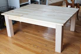 making a wood table how to make a coffee table diy farmhouse coffee table love grows