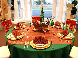 furniture design christmas banquet table decorations