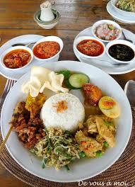 recettes de cuisine indon駸ienne balinaise retour à bali avec cette recette de nasi goreng servi d ailleurs