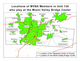 Dayton Map Maps Miami Valley Bridge Association
