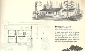 Mid Century House Plans Vintage House Plans 2156 Antique Alter Ego