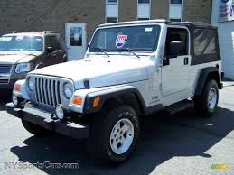 2006 jeep wrangler unlimited 4x4 in bright silver metallic