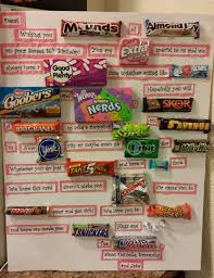 Birthday Card With Bars Candy Messages Christmas Google Search Gifts Pinterest