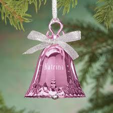 personalized birthstone bell ornament kimball