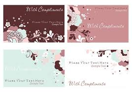 floral business card floral business cards and stationery psd pack free photoshop