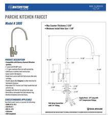 Waterstone Kitchen Faucets by Waterstone Kitchen Copper Home Faucets Ebay