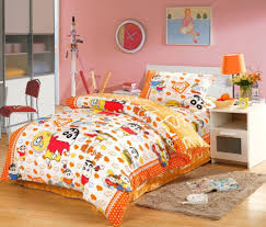 best japanese anime 100 cotton orange bedding comforter set kids