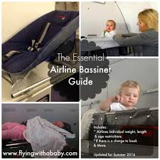 Ba Flights To Usa Map by Baby Bassinet Seats A Guide To Airline Baby Bassinet Seat