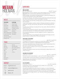 ui designer resume resume megan holman ux ui designer