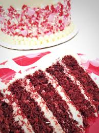 red velvet cake with white chocolate frosting cake by courtney