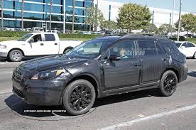 first gen subaru outback caught 2015 subaru outback truck trend