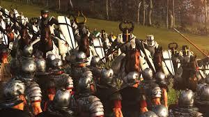 legions vs knights total war rome 2 machinima youtube