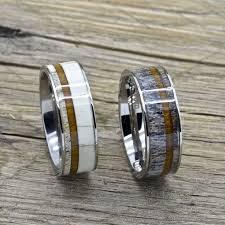 Deer Antler Wedding Rings by Top 25 Best Antler Ring Ideas On Pinterest Deer Antler Ring