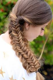 fishtail hairstyle hair is our crown