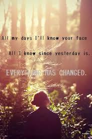 everything has changed testo 210 best lyric quotes images on song lyrics lyrics