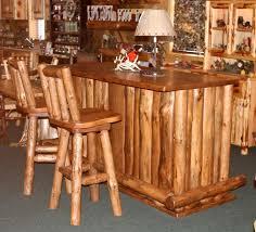 amish rustic wood bar bar stool wood bars and stools