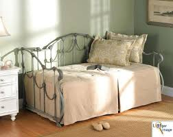 Iron Daybed With Trundle Wrought Iron Daybed Perth Black Wrought Iron Daybed With Trundle