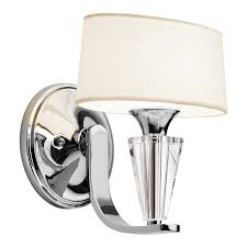 Kichler Wall Sconce Kichler Lighting 42028ch Persuasion Wall Sconce Chrome