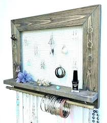 necklace storage display images Jewelry wall storage jewelry wall storage necklace wall organizer jpg