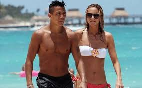Alexis Sanchez Wife | striker alexis sanchez accused of having too much sex with his