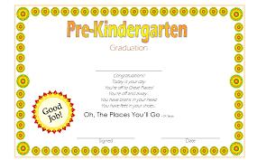 kindergarten certificates pre kindergarten certificate template 9 best 10 templates