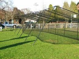 Backyard Batting Cages Reviews How To Build Backyard Batting Cages Honey Do List Pinterest