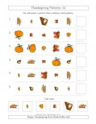 middle school thanksgiving math worksheets middle school printable