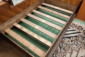 how to build a wooden bed frame howtospecialist how to build