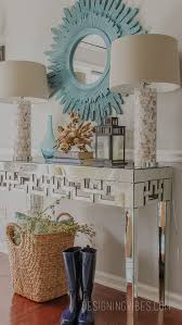 Mirrored Console Table 2016 Spring Home Tour Vignettes Console Tables And Consoles
