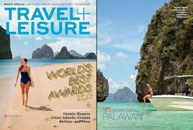 travel and leisure magazine images Travel and leisure magazine features el nido resorts palawan out jpg