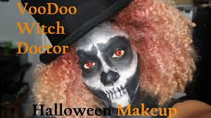 witch doctor and voodoo doll costume voodoo witch doctor halloween make up youtube