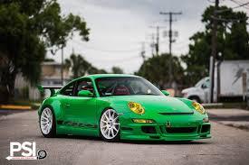 porsche 911 green green porsche 911 gt3 rs rides on white hre wheels gtspirit