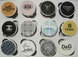 designer cupcakes designer handbags with matching logos cupcakes