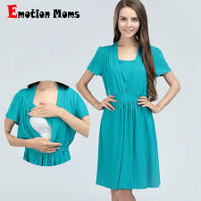nursing dress emotion maternity clothes cotton maternity dress summer