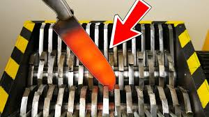 Best Home Shredder by Experiment Shredding Knife At 1000 Degrees Experiment At Home