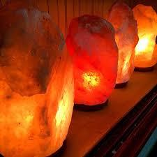 Soothing Himalayan Salt Lamp U2013 Kudzu Antiques