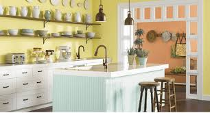 Yellow Kitchen Walls by Cream Kitchen Cabinet Paint Ideas Gallery With Common Colors