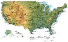 Western Usa Map by Map Maps Usa Florida Canada Mexico Caribbean Cuba South America
