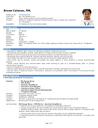 sample resume for opd nurses resume ixiplay free resume samples