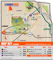 Kissimmee Florida Map by Leading Edge Helicopter Tours